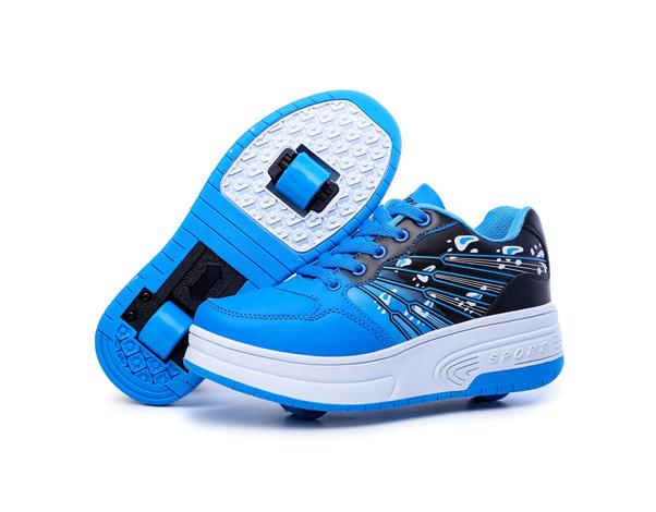 heely rolschaatsen blauw