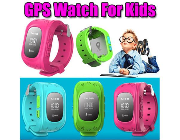 GPS smartwatch voor kinderen