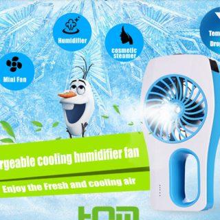 Ventilator met waterspray