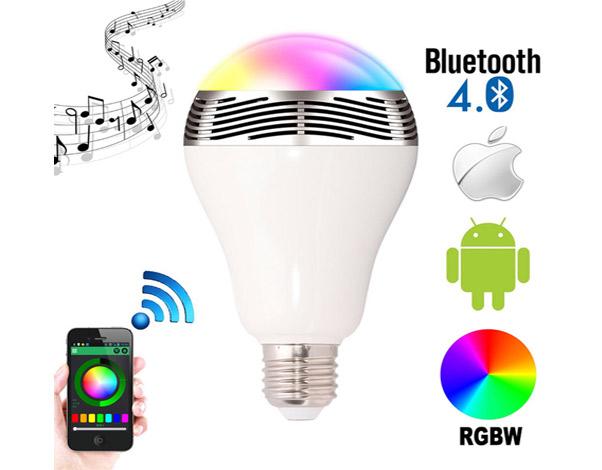 bluetooth ledlamp met muziek