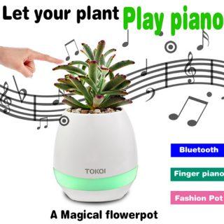 Bluetooth bloempot speaker