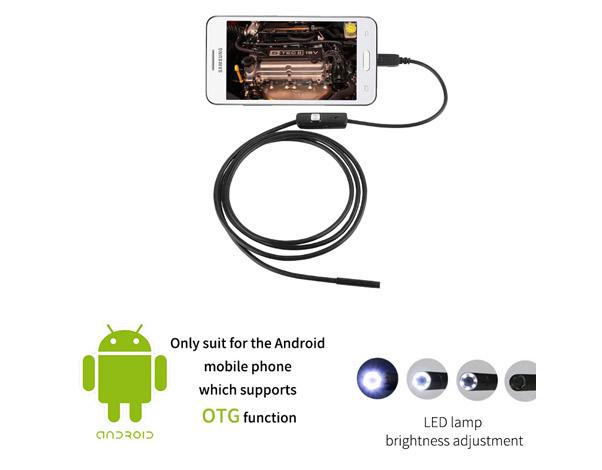 Endoscoop voor android