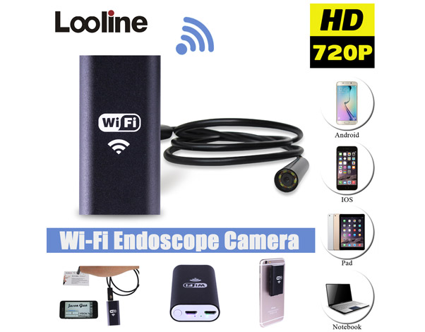 Endoscope met WiFi